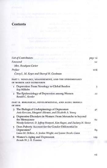 Women and Depression: A Handbook for the Social, Behavioral, and Biomedical Sciences (Paperback)