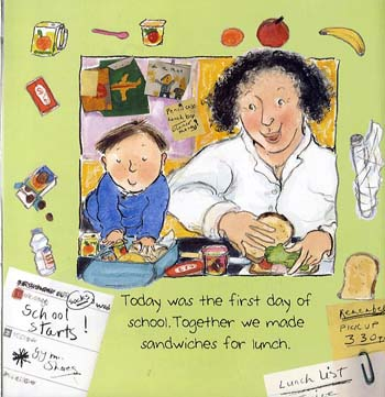 The First Day of School (Paperback)