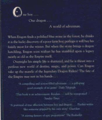 Eragon: Book One - The Inheritance Cycle (Paperback)