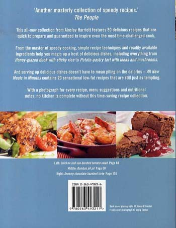 Ainsley Harriott's All New Meals in Minutes (Paperback)