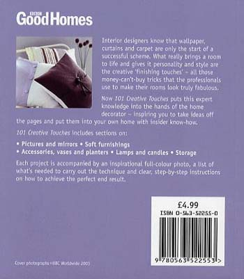 Good Homes 101 Creative Touches: Stylish Home Ideas (Paperback)
