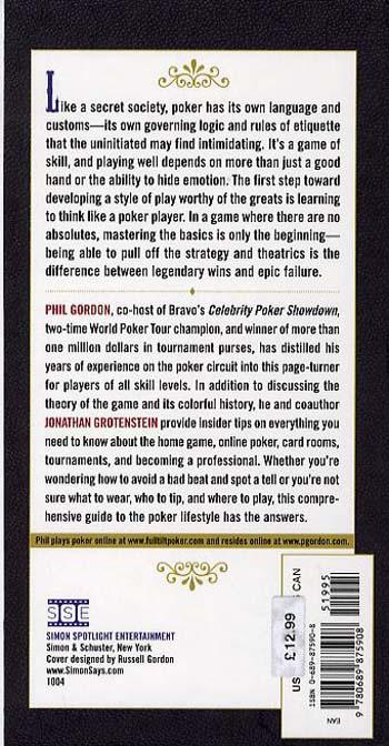 """Poker: Insider Tips from the Co-host of """"Celebrity Poker Showdown"""" (Paperback)"""