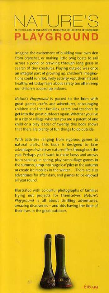 Nature'S Playground (Hardback)