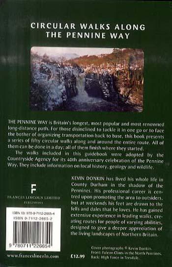 Circular Walks Along the Pennine Way (Paperback)