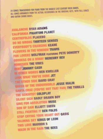 21st Century Rock Piano (Paperback)