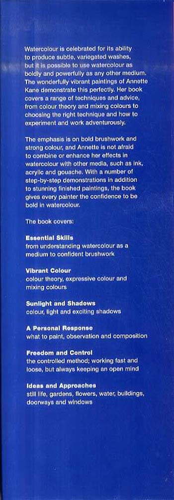 Being Bold with Watercolour (Hardback)
