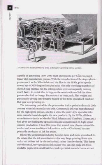 Inks - Printmaking Handbooks (Paperback)
