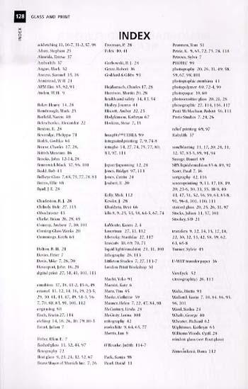 Glass and Print - Glass Handbooks (Paperback)