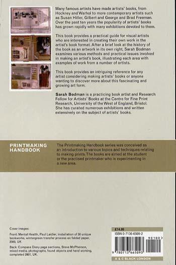 Creating Artists' Books - Printmaking Handbooks (Paperback)