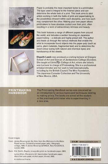 Papermaking for Printmakers - Printmaking Handbooks (Paperback)