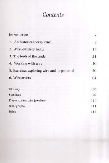 Wire Jewellery - Jewellery Handbooks (Paperback)