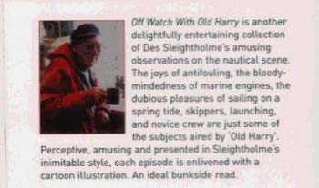 Offwatch with Old Harry: The Funny Side of Sailing (Paperback)