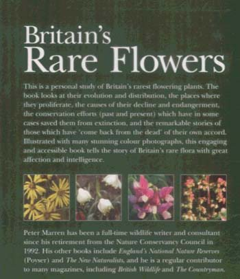 Britain's Rare Flowers (Paperback)
