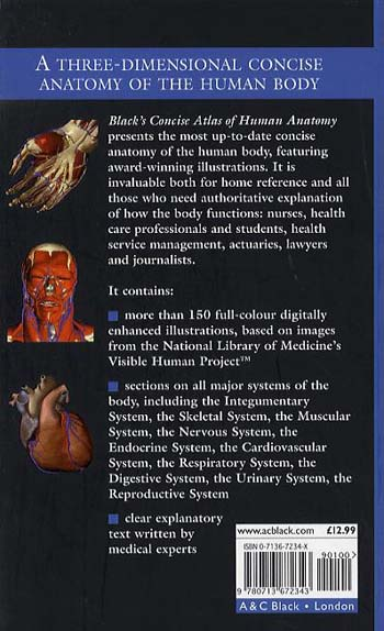 Black's Concise Atlas of Human Anatomy (Paperback)