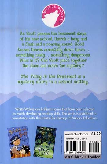 The Thing in the Basement - White Wolves: Adventure Stories (Paperback)