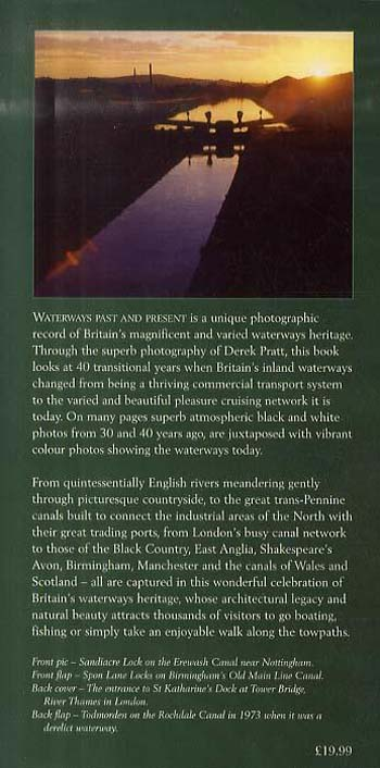 Waterways Past and Present: A Unique Record of Britain's Waterways Heritage (Hardback)