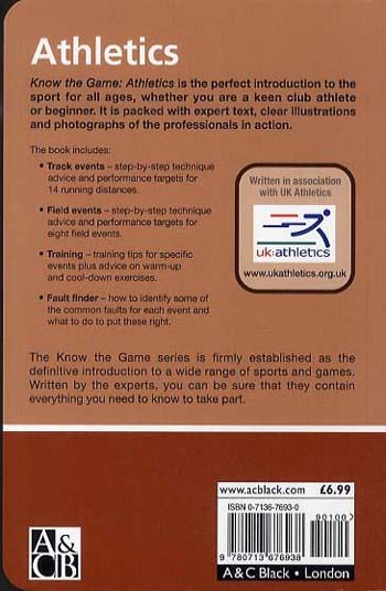Athletics - Know the Game (Paperback)