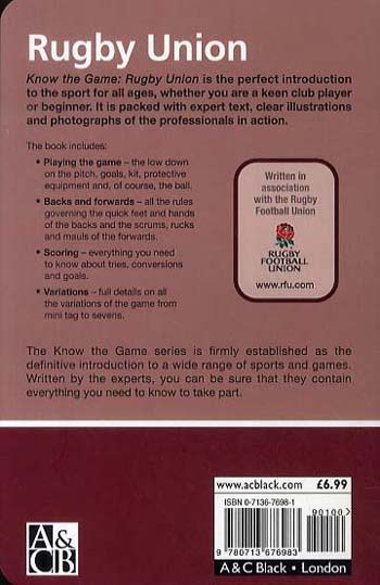 Rugby Union - Know the Game (Paperback)