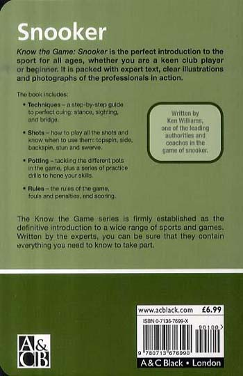 Snooker - Know the Game (Paperback)