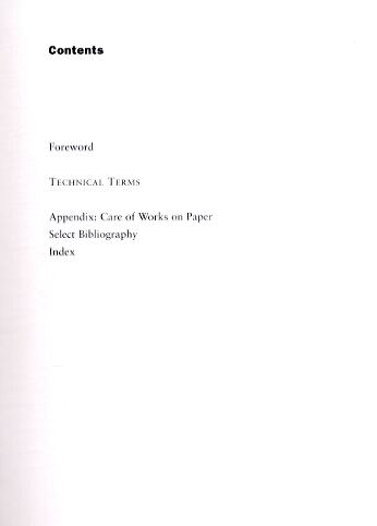 Looking at Prints, Drawings and Watercolours: A Guide to Technical Terms (Paperback)