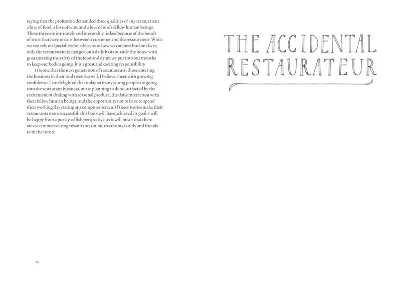 The Art of the Restaurateur (Hardback)
