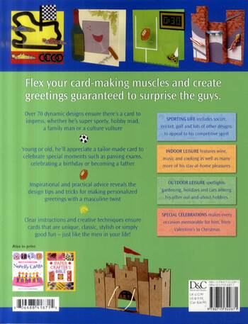 Cards for Lads and Dads: Over 70 Inspirational Designs for the Men in Your Life (Paperback)