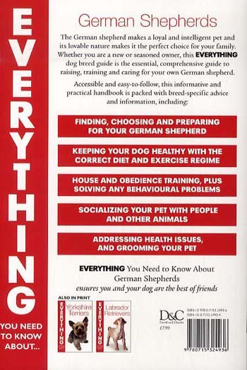 German Shepherds - Everything You Need to Know About... S. (Paperback)
