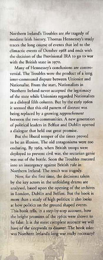 Northern Ireland: The Origins of the Troubles (Hardback)