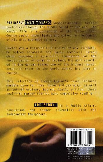 The Murder File: An Irish Detective's Casebook (Paperback)