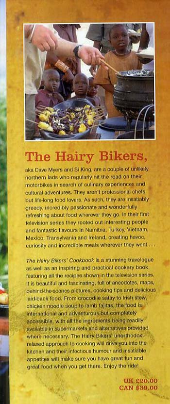 The Hairy Bikers' Cookbook (Hardback)
