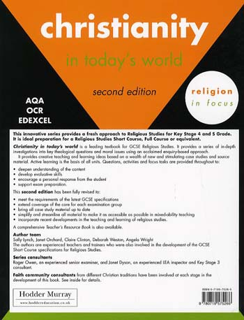 Christianity in Today's World - Religion in Focus (Paperback)