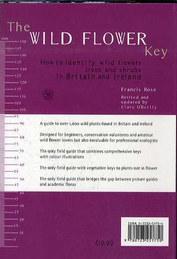 The Wild Flower Key (Paperback)
