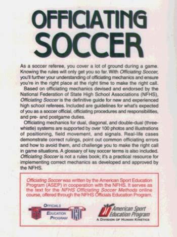 Officiating Soccer (Paperback)