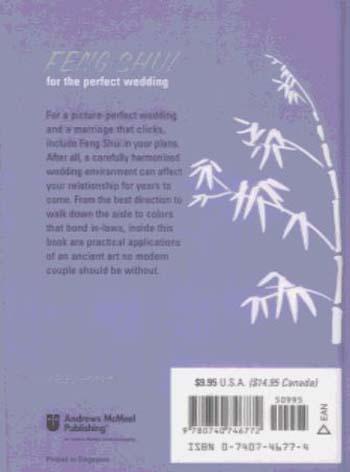 Feng Shui for the Perfect Wedding (Hardback)