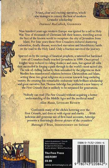 The First Crusade: A New History (Paperback)