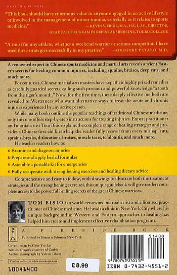 A Tooth from the Tiger's Mouth: How to Treat Your Injuries with Powerful Healing Secrets of the Great Chinese Warrior (Paperback)