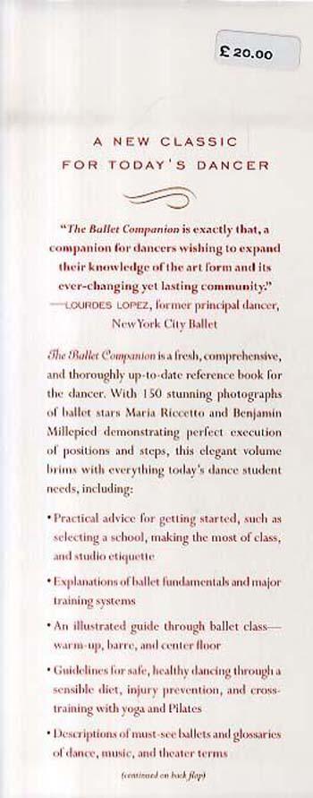 The Ballet Companion: Ballet Companion (Hardback)