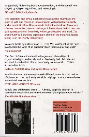 The End of Faith: Religion, Terror, and the Future of Reason (Paperback)
