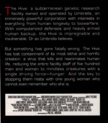 Resident Evil: Genesis (Paperback)