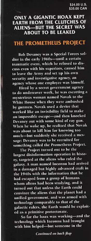 The Prometheus Project (Hardback)