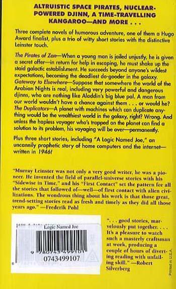A Logic Named Joe (Paperback)