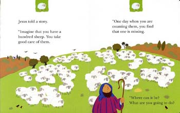 The Lost Sheep - My Very First Board Book (Board book)