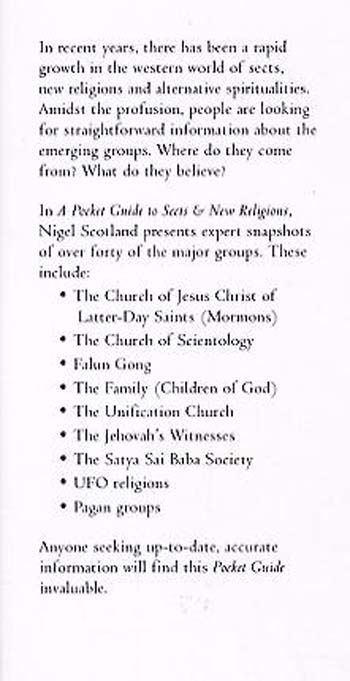A Pocket Guide to Sects and New Religions - Pocket Guides (Paperback)