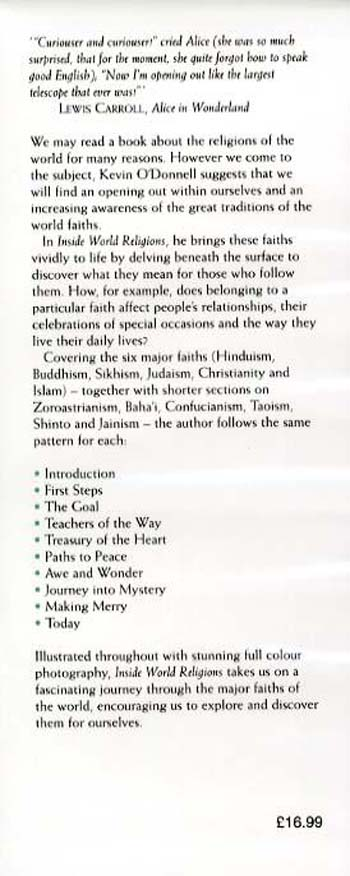 Inside World Religions: An Illustrated Guide (Hardback)