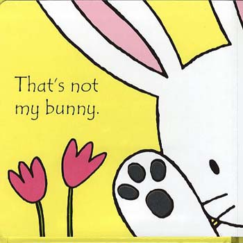 That's Not My Bunny - That's Not My... (Board book)