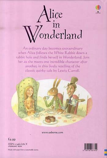 Alice In Wonderland - 3.2 Young Reading Series Two (Blue) (Hardback)
