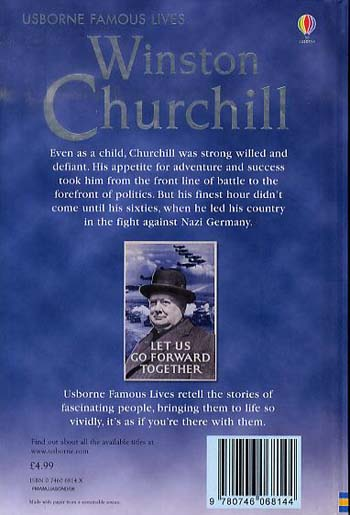 Winston Churchill - 3.3 Young Reading Series Three (Purple) (Hardback)
