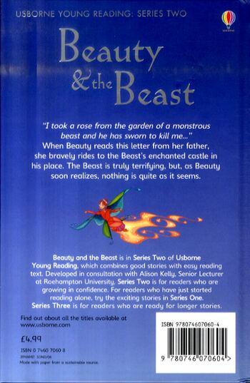 Beauty and the Beast - Usborne Book and Jigsaw (Hardback)