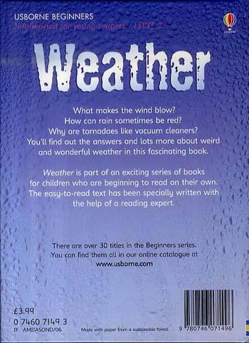 Weather - Beginners Series (Hardback)