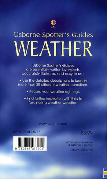 Weather - Spotter's Guide (Paperback)